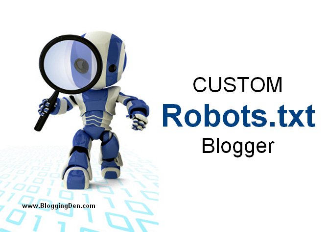 How to Create and add Robots.txt code in Blogger?