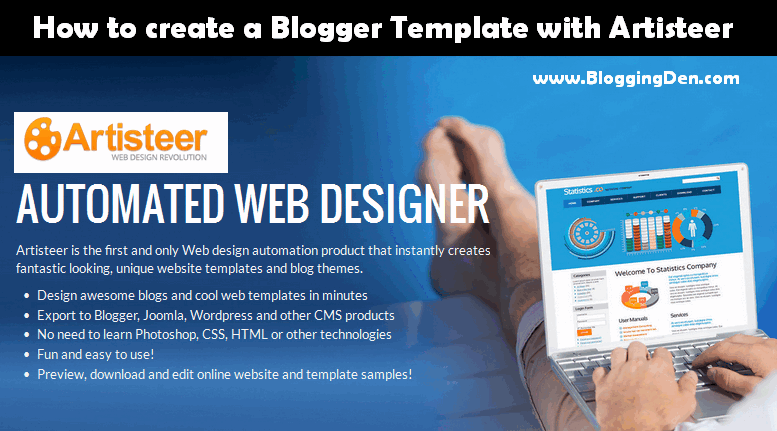 How to Create a Blogger template with Artisteer? - Blogging Den