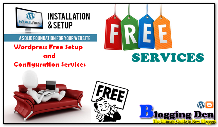 Free WordPress Installation Service for New bloggers
