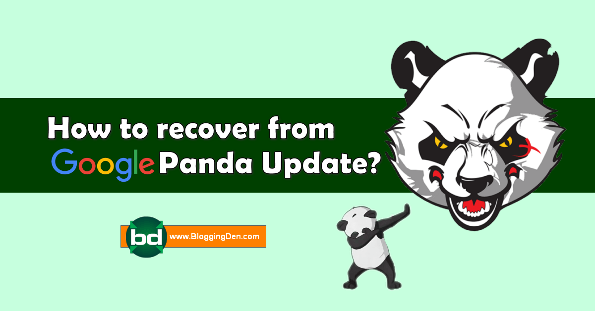 how to recover from google panda update 2020