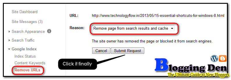 submit urls from search engines