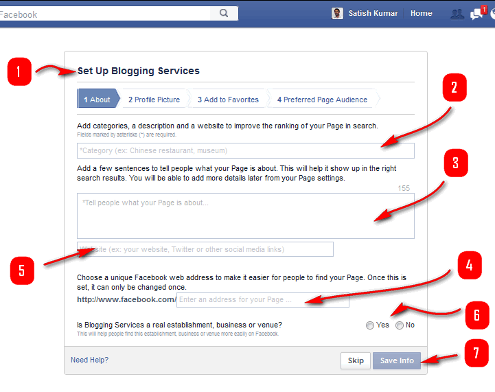 how to make a business facebook page 2014