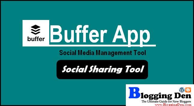 buffer social media management tool