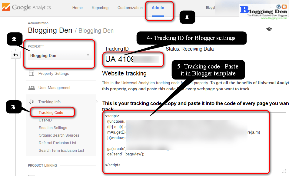 How to Add Google Analytics Tracking Code in Blogger Blog