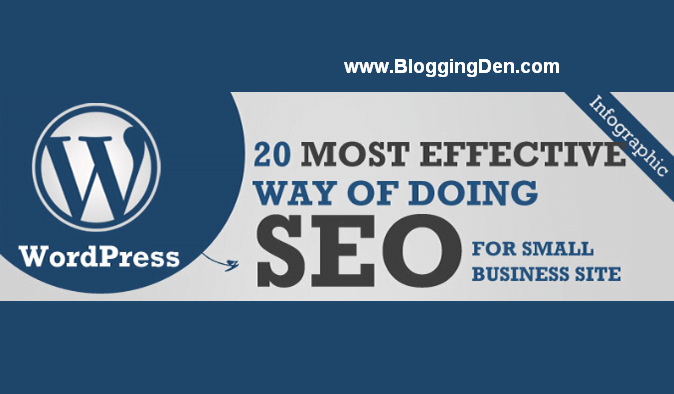 20 Effective Ways of WordPress SEO InfoGraphics