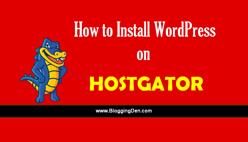 How to install wordpress on Hostgator web hosting