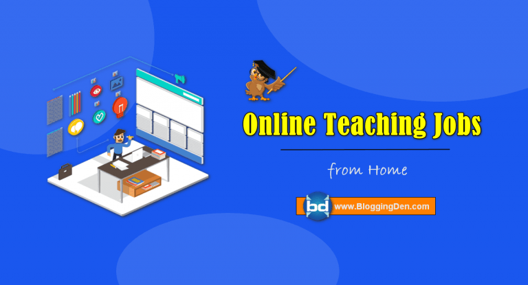 online teaching jobs from home