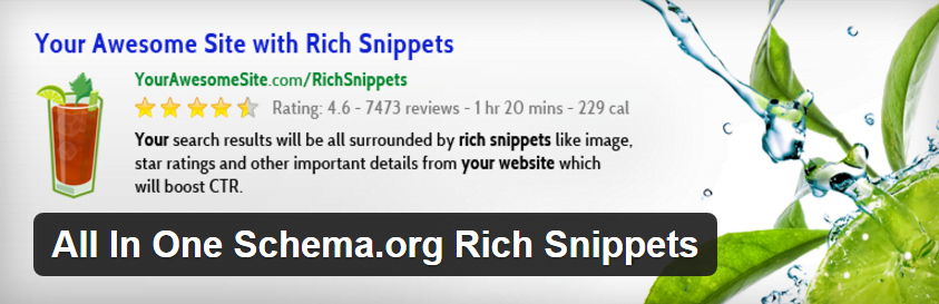 All In One Schema.org Rich Snippets plugin