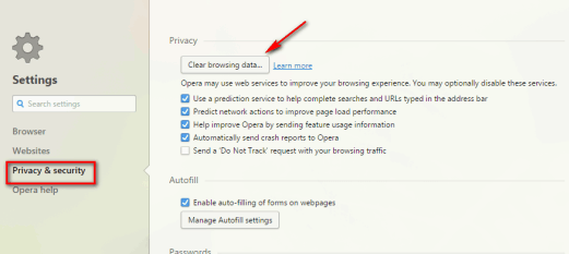 how to clear browsing data on mac