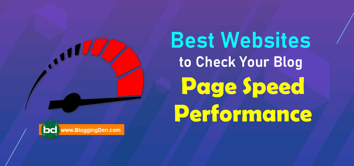 sites to check blog page speed performance