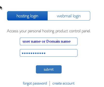 www bluehost com login