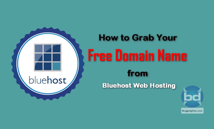 How to Grab a Free domain name from Bluehost