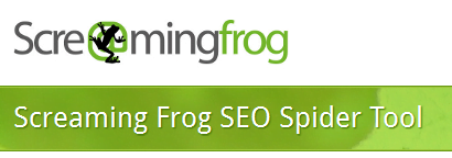ScreamingFrog SEO Spider tool