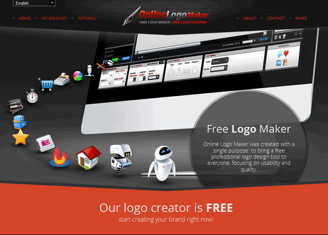onlinelogomaker for free logo creation services