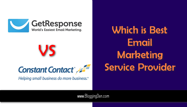 Getresponse vs constant contact Review Which is best email martketing service provider