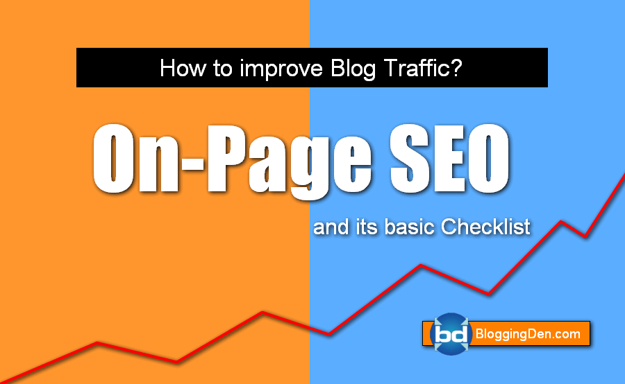 on page seo checklist 2018