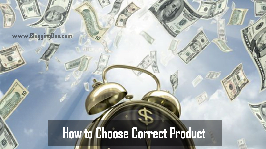 How to choose right product in clickbank