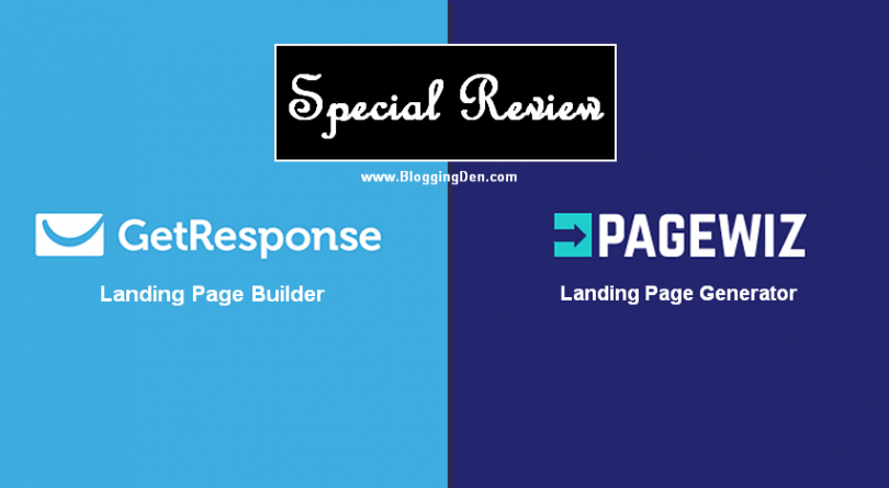 PageWiz VS GetResponse Landing Page Builder Review