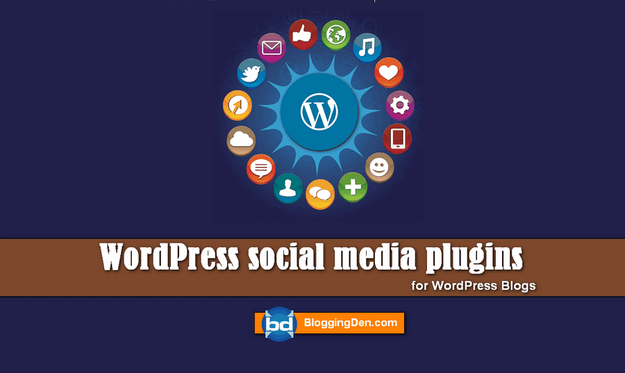 WordPress social media plugin list