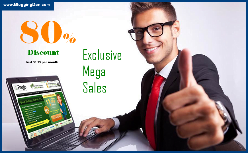 ipage discount and Exclusive Mega sales up to 83% off