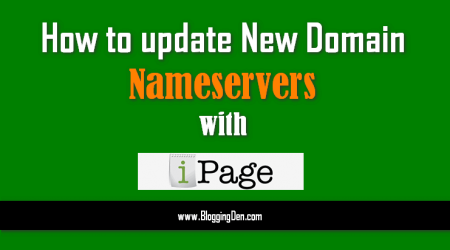 How to update NameServers in Godaddy and Add to iPage