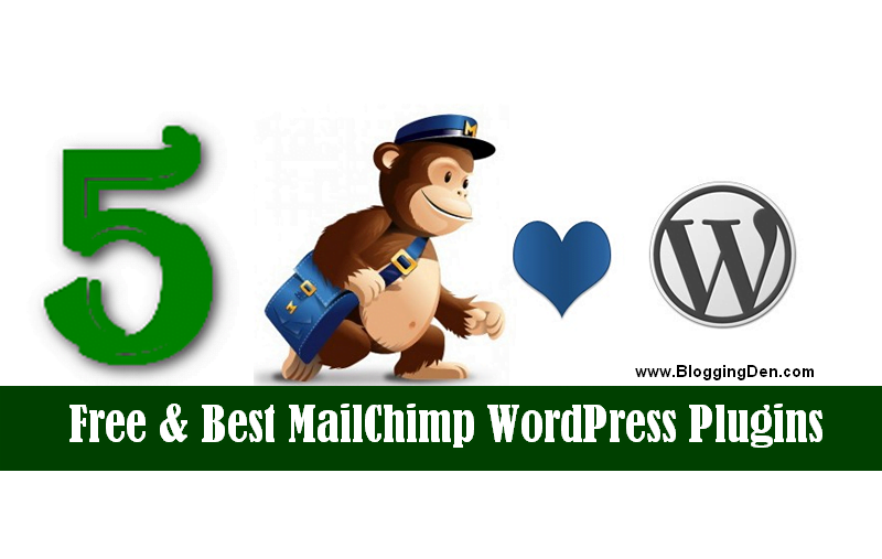 Best MailChimp WordPress plugin list 2019