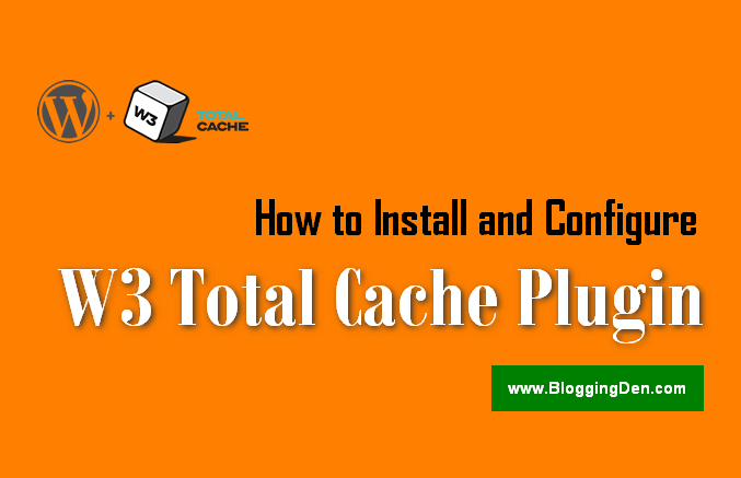 How to install and configure W3 total cache plugin