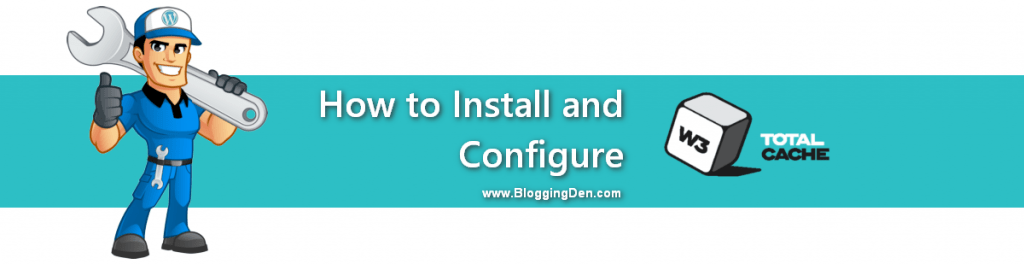 install and configure W3 total cache plugin