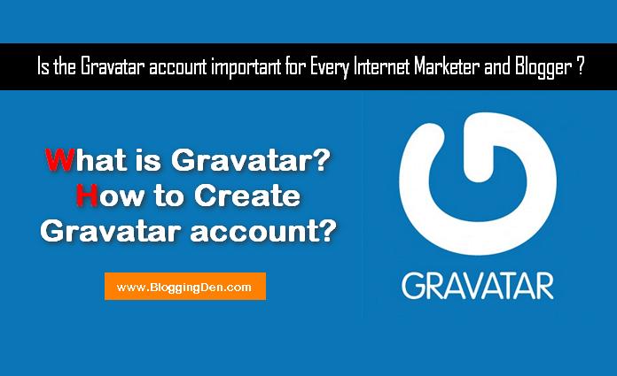 How to create gravatar account