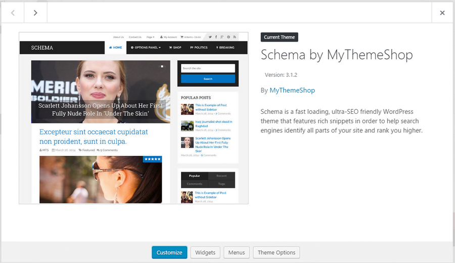 Schema by Mythemeshop