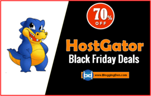 Hostgator Black Friday deals 2018