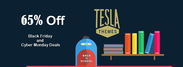 tesla themes black friday and cyber monday deals 2016