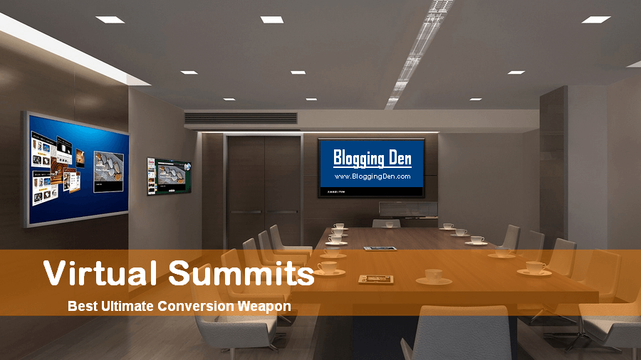 Why Virtual Summits are the Best Ultimate Conversion Weapon