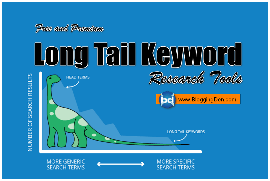 Free and Premium Long tail Keywords Research Tools