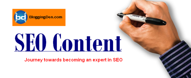 SEO Content Journey towards becoming an expert in SEO