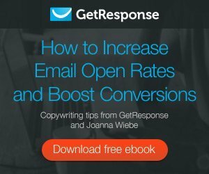 increase sales with getresponse