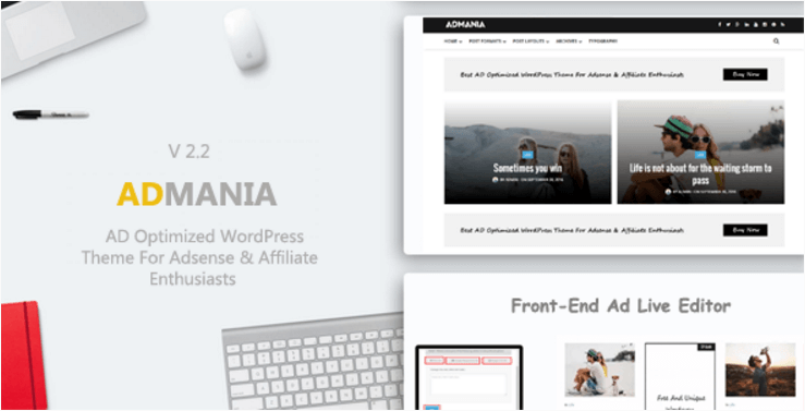 Admania by ThemeForest