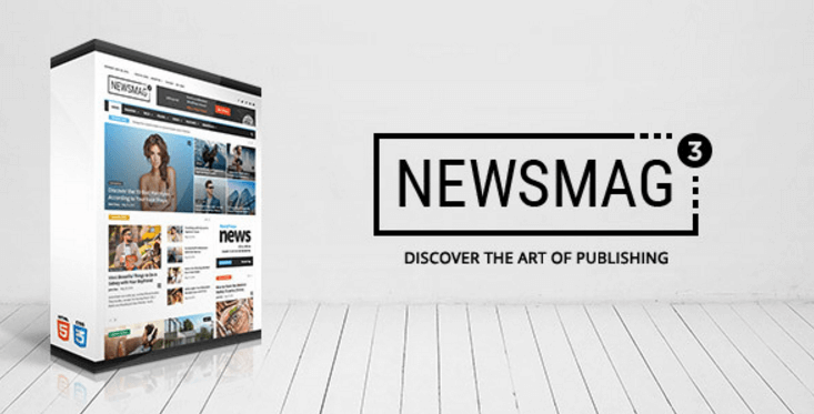 NewsMag by ThemeForest
