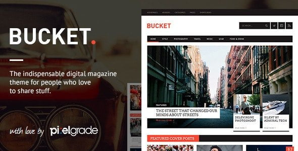 bucket wordpress theme