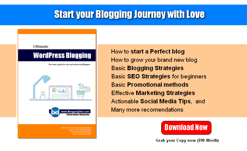 Free ebook copy BloggingDen
