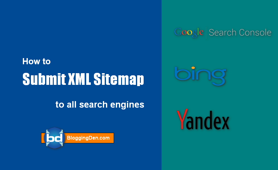How to submit xml sitemap