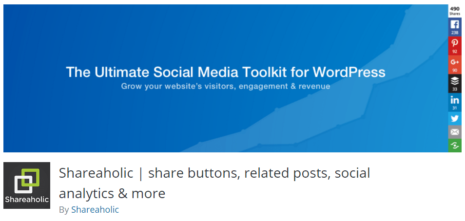 shareaholic social wordpress plugin