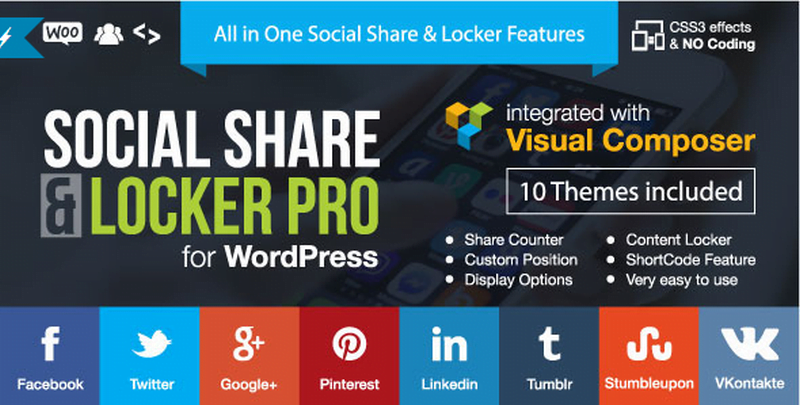 social share and locker pro