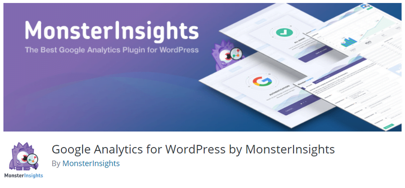 Google Analytics for WordPress by MonsterInsights