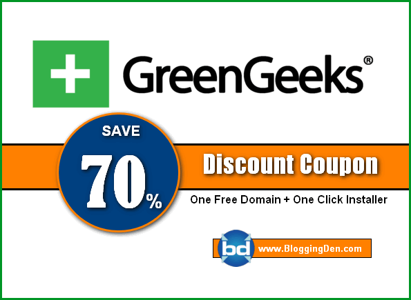 Greengeeks coupon code new