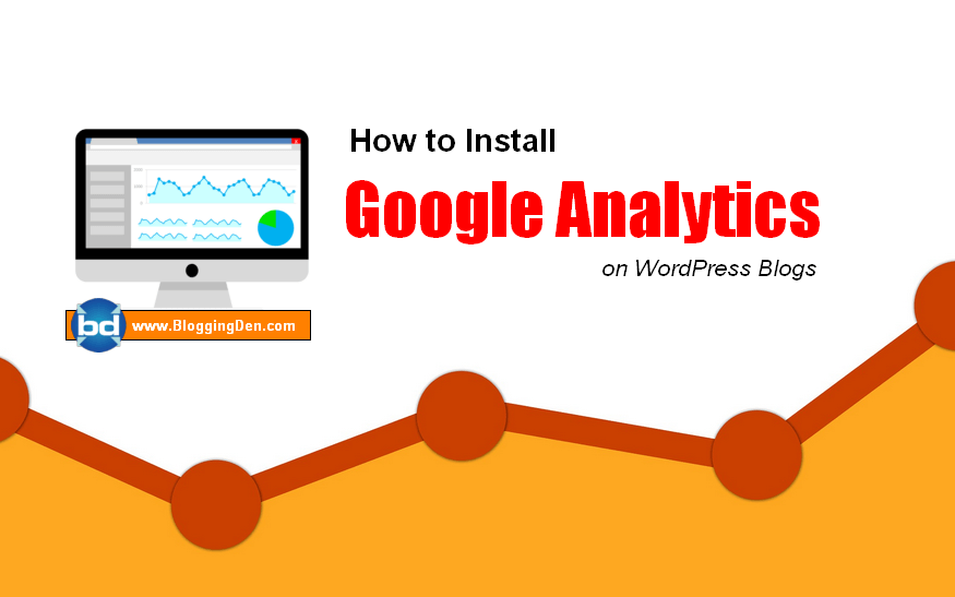 How to install google analytics on wordpress blogs
