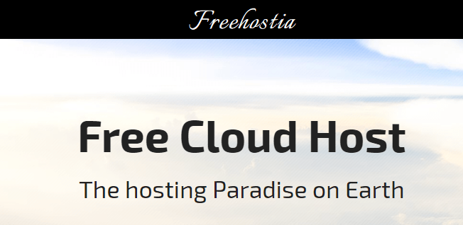 freehostia web hosting