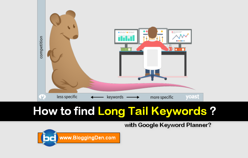 How to find long tail keywords with Google keyword planner