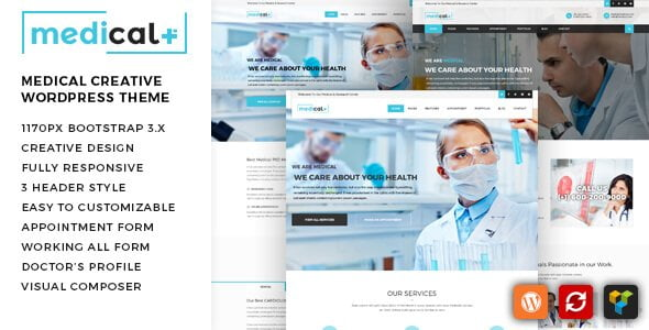 Medical Plus wordpress theme