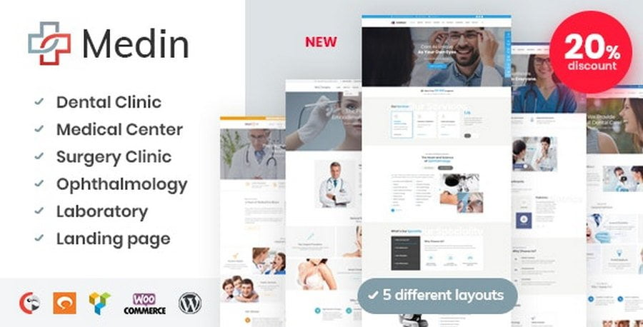 Medin wordpress theme